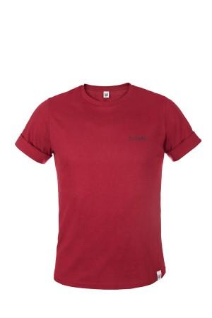 Koszulka męska COLOUR TEE bordowa