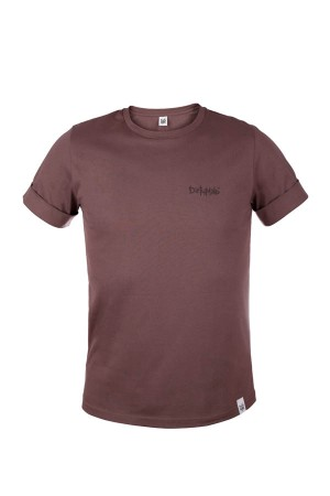 Koszulka damska COLOUR TEE jasny brąz